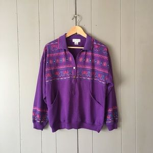 Vintage Popover Sweatshirt
